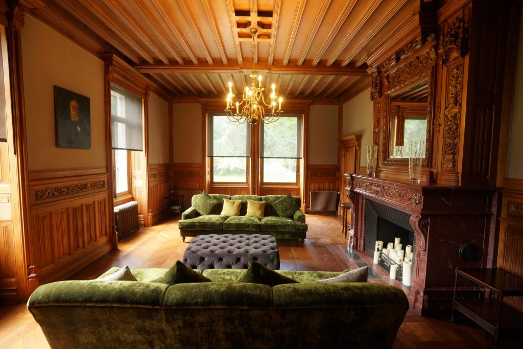 Beaming with delight: a sympathetically renovated chateau. Chateau d'Hallines, Northern France