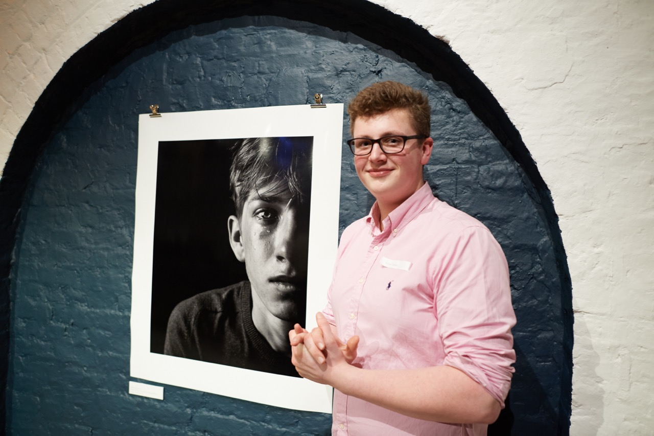 Robert Spicer (17) Overall Winner & Portrait Category Winner Image - Men Do Cry