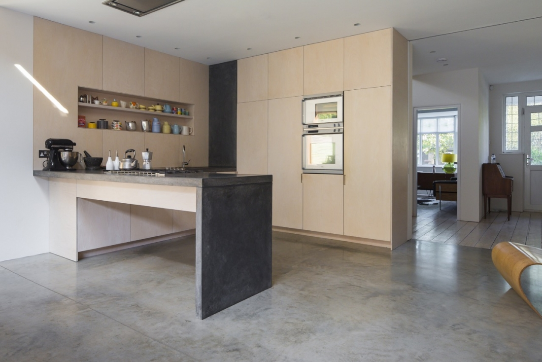 A very practical kitchen at Hengrave