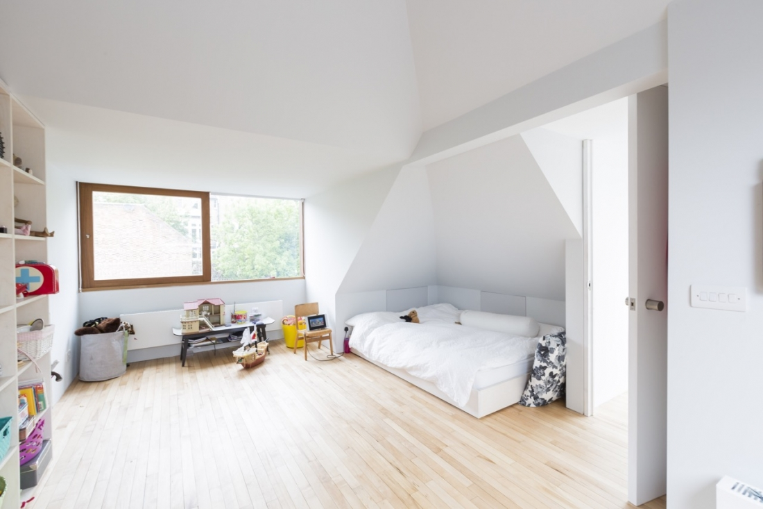 Children's Bedroom at Hengrave, continuing the theme of bright, clean living spaces.