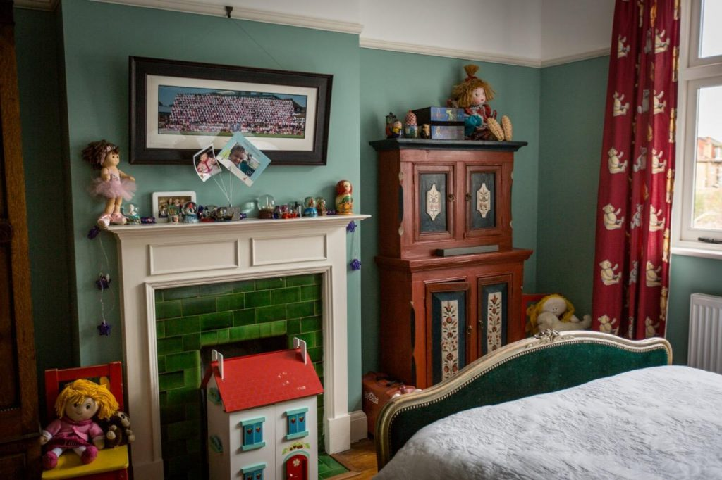 Ryan's House comes complete with traditional Children's bedrooms which may also be used for filming and photography.