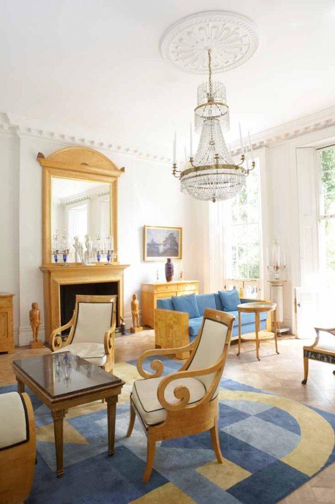 Art Deco Empire's striking main room