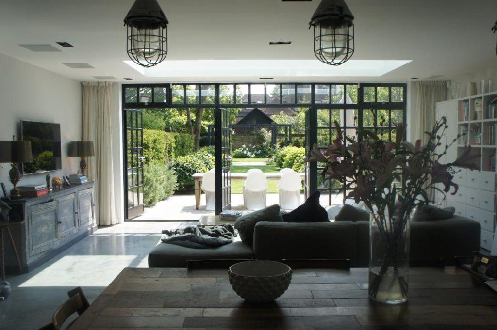 Grove Park: exterior crittall windows