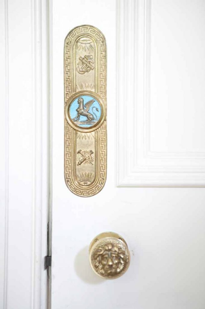 Detailed, bespoke finishing touches are seen throughout the house.