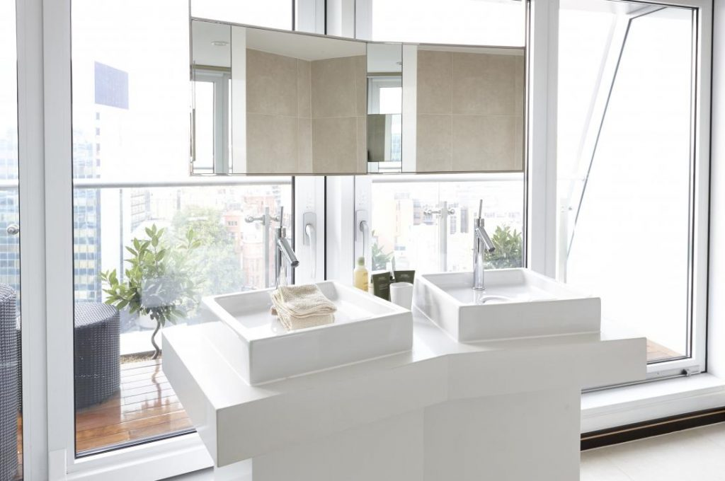 Bathrooms with great views? There's a Penthouse for that.