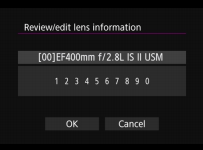 reviewed lens info